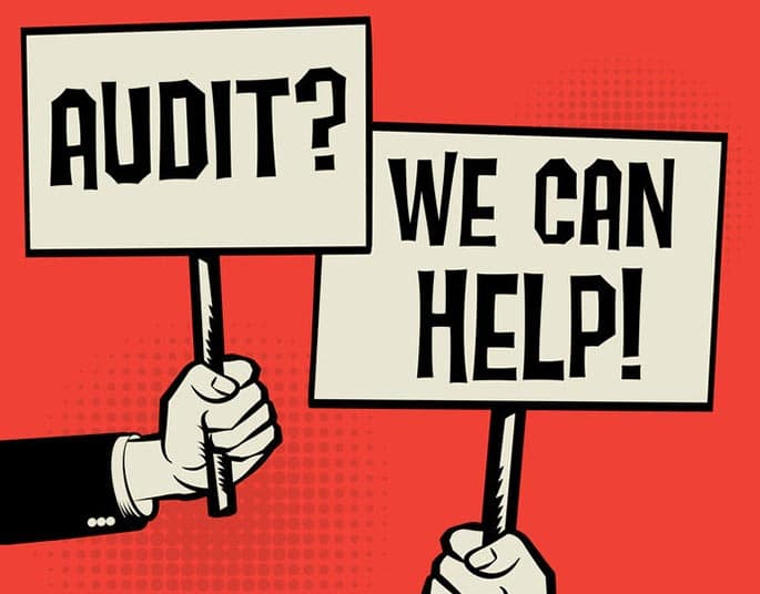 Picture to accompany article about audit law