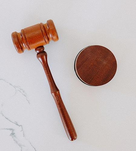 Close Up of Judge's Gavel - Tax Problems - Tax Crimes